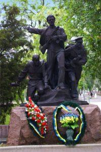 Памятник морякам-десантникам освободителям Бердянска.