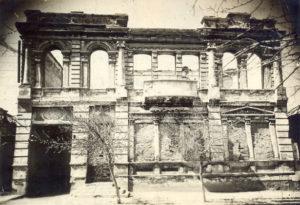 Разрушенный город 1943 год.