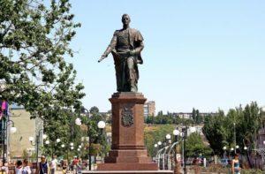 Памятник основателю Бердянска , Воронцову М.С.