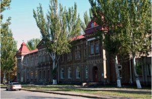 Здание Педагогического института в наше время.