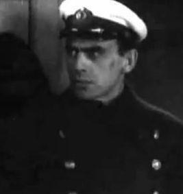 Яблонский в роли Петрова в фильме «Путь корабля» (1935)