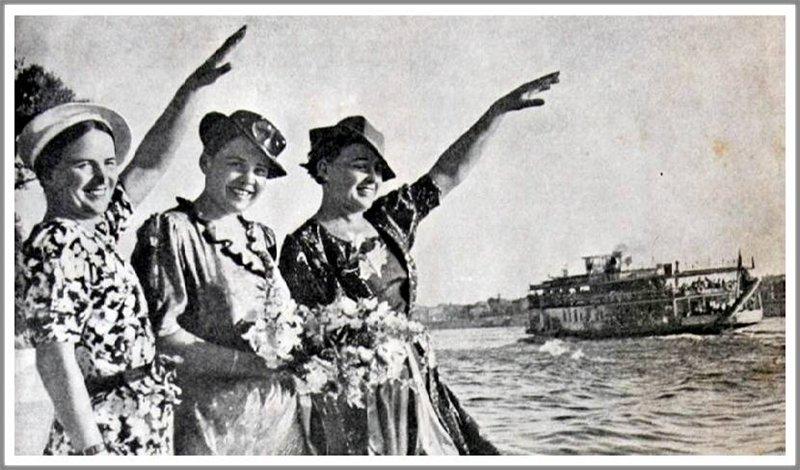 Летчицы Марина Раскова, Полина Осипенко и Вера Ломако.