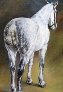"""С. В. Животовского """"Лошадь"""" (1890)"""